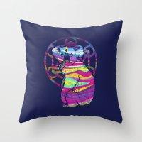 Enlightended  Koala Throw Pillow