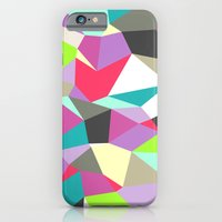 iPhone & iPod Case featuring Geomesh 02 by Katy Clemmans