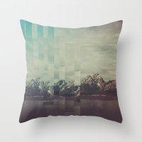 Fractions A31 Throw Pillow