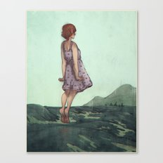 Closure Canvas Print