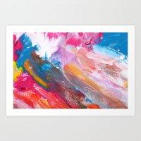 Paint Texture 29 Art Print