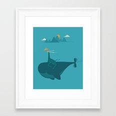 Nature's Submarine Framed Art Print