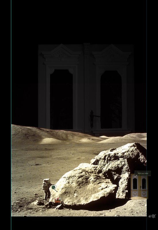 Space is deep Canvas Print