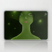 Woman_snake Laptop & iPad Skin