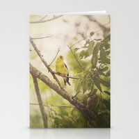 Summer Finch Stationery Cards