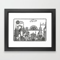 City Framed Art Print