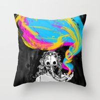 DeathBreath Throw Pillow