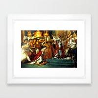 Le Sacre De Napoleon  Framed Art Print
