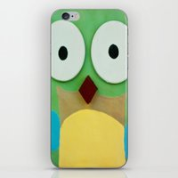 whoo? iPhone & iPod Skin
