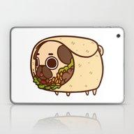 Laptop & iPad Skin featuring Puglie Burrito by Puglie