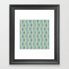 Dots & Lines Framed Art Print