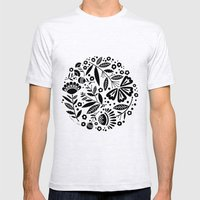 In The High-Contrast Geo… Mens Fitted Tee Ash Grey SMALL