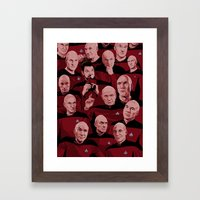 Picard Day Framed Art Print
