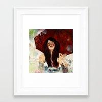 Framed Art Print featuring TEMPEST by Stephan Parylak