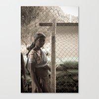 Tea Lady, Sri Lanka Canvas Print