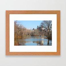 Reflections that Speak Framed Art Print