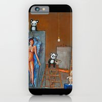 Painting Pandas iPhone 6 Slim Case
