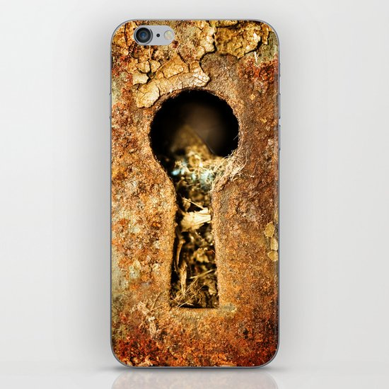 Key to Rust iPhone & iPod Skin