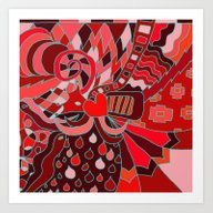 Abstract 28 Art Print
