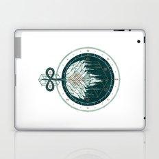 White Dahlia Laptop & iPad Skin