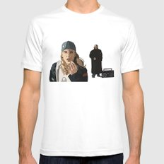 Jay and Silent Bob, Clerks 2 SMALL White Mens Fitted Tee