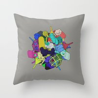 Pinion Efforvescent Throw Pillow