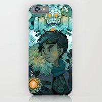 iPhone & iPod Case featuring Aztec Gundam by CKellyIllustration