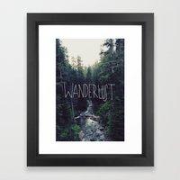 Wanderlust: Rainier Cree… Framed Art Print
