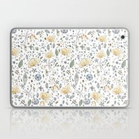 Flower Garden Watercolor Laptop & iPad Skin