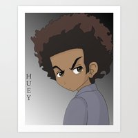 The Boondocks Art Print