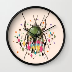 Insect VII Wall Clock
