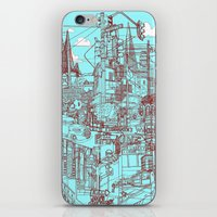 San Francisco! (Turquois… iPhone & iPod Skin