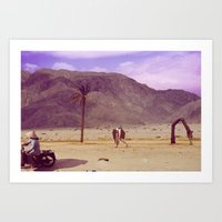 Back To Nature With My C… Art Print