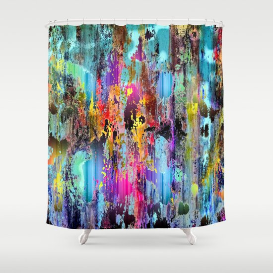 Fantasy wetlands shower curtain by ex ordinary art society6 for Fantasy shower curtains
