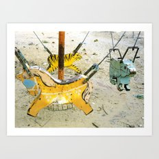 Playgrounds, Vietnam Art Print
