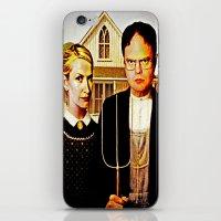 Dwight Schrute & Angela … iPhone & iPod Skin