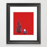 Merry Christmas Charlie … Framed Art Print