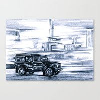 Defender Canvas Print