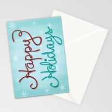 Holiday Ribbon Stationery Cards