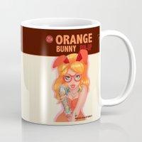 Oranges bunny PIN UP magazine Mug