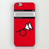 No023 MY The Crying of Lot 49 Book Icon poster iPhone & iPod Skin