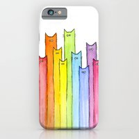 Rainbow Of Cats iPhone 6 Slim Case
