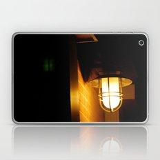 Yellow streetlight Laptop & iPad Skin