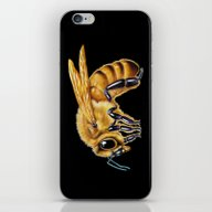 iPhone & iPod Skin featuring Honey Bee by Tim Jeffs Art