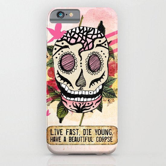 Live Fast iPhone & iPod Case