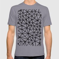 Broken Mens Fitted Tee Slate SMALL