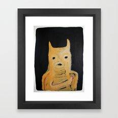 no no Framed Art Print