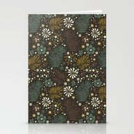 Mystical Forest (Greens) Stationery Cards