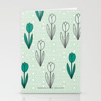 Tulips 03 Stationery Cards