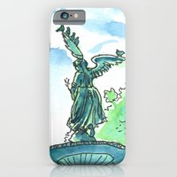 Angel of the waters - Central Park, New York iPhone 6 Slim Case